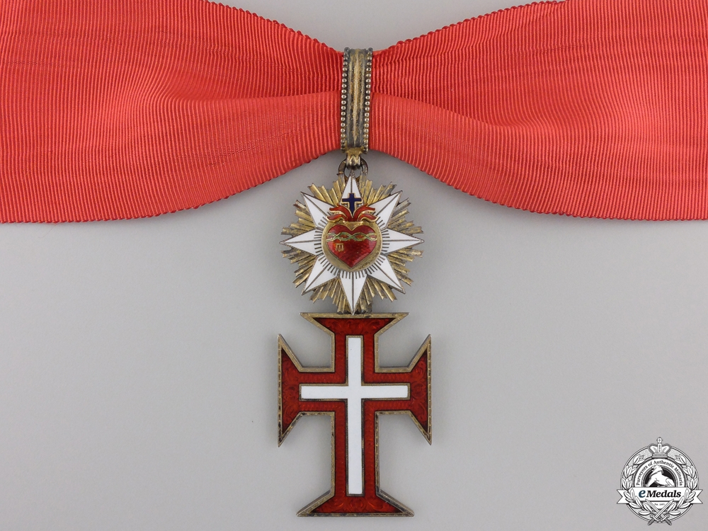 A Portuguese Military Order of Christ by Rothe; Commander Cross