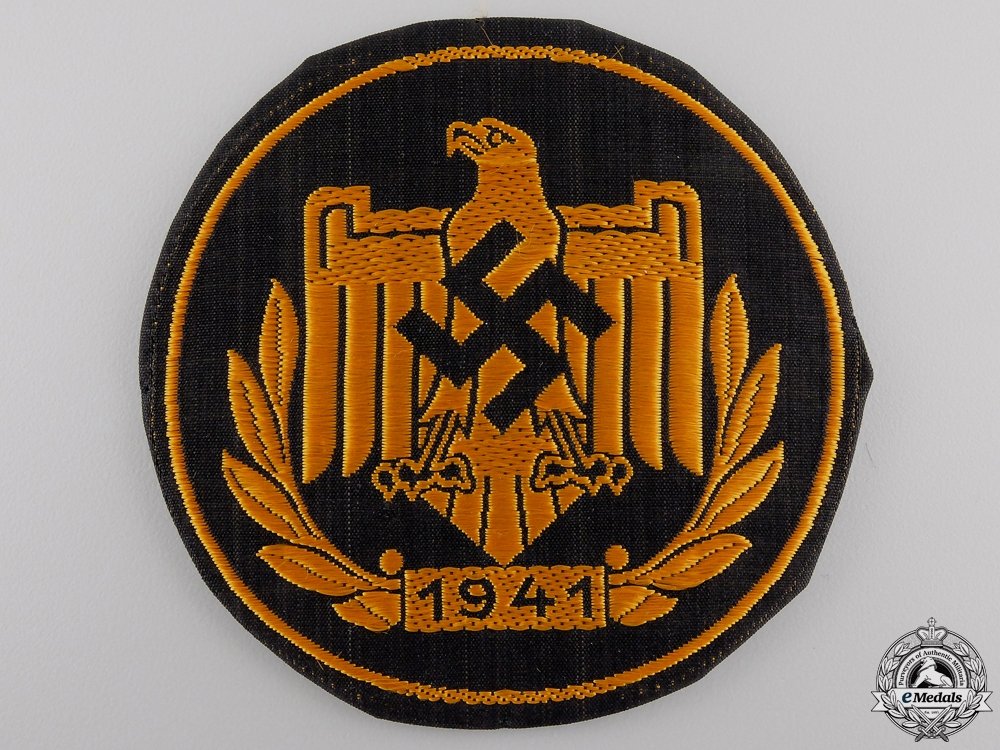 A Proficiency Badge of the DRL, NSRL; Bronze Version