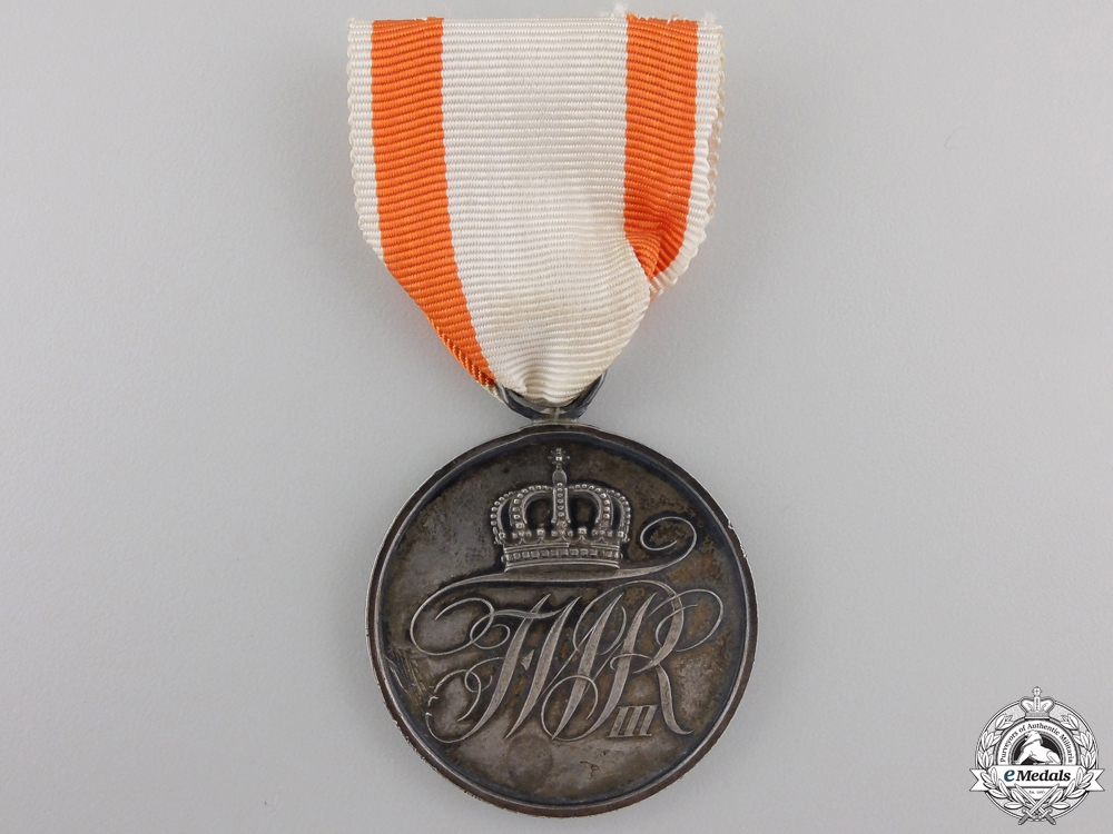 A Prussian Military Merit Medal