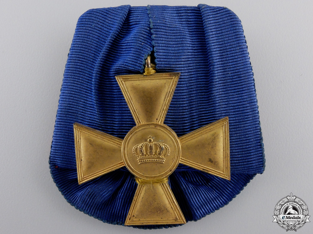 A Prussian Officer's Long Service Cross