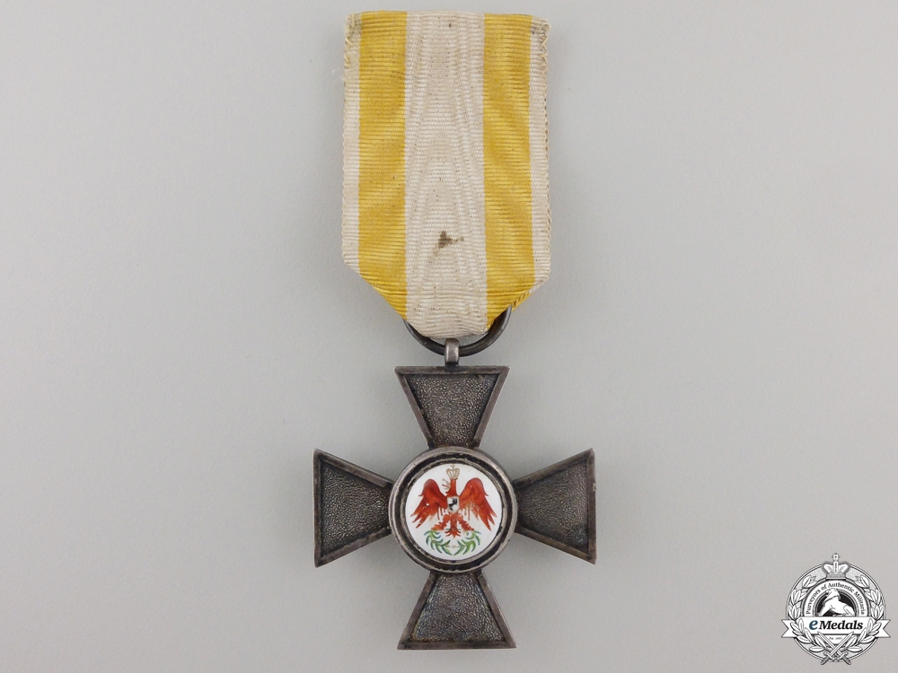 A Prussian Order of the Red Eagle; 4th Class by Sy & Wagner
