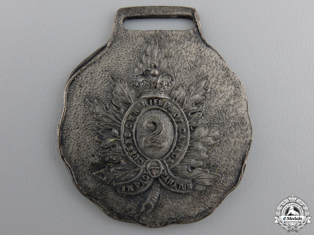 A Queen's Own Rifles of Canada Commemorative Medal
