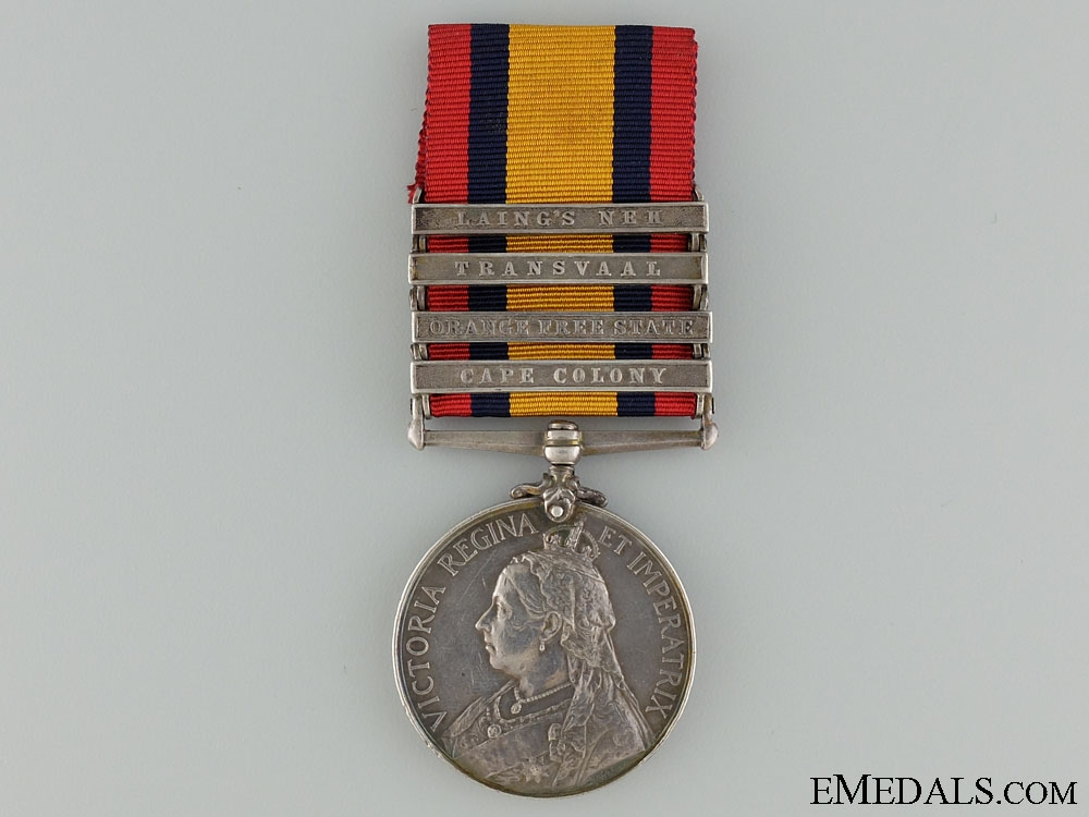 Queen's South Africa Medal to the Lancashire Fusiliers