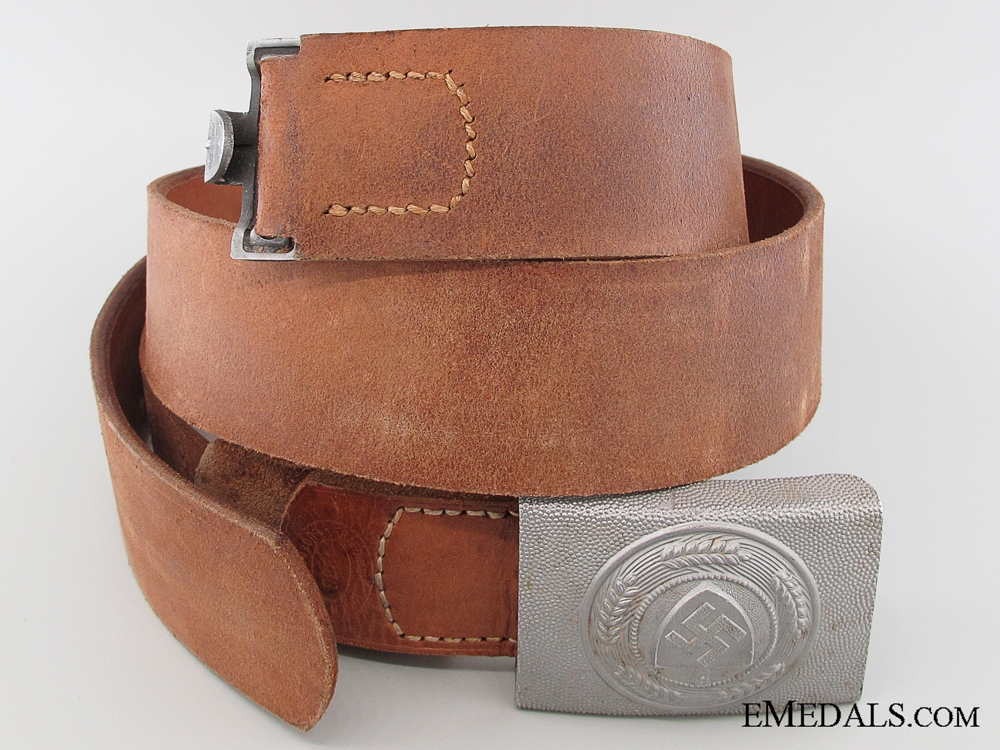 A RAD Belt and Buckle by FLL