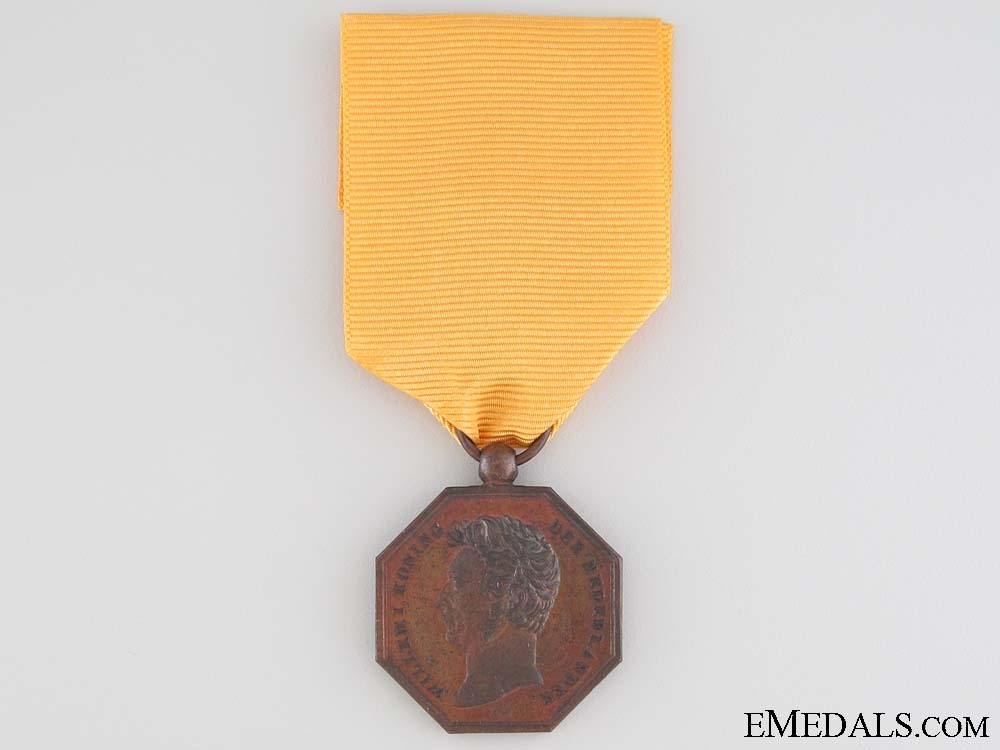 A Rare 1825-1830 Java War Medal