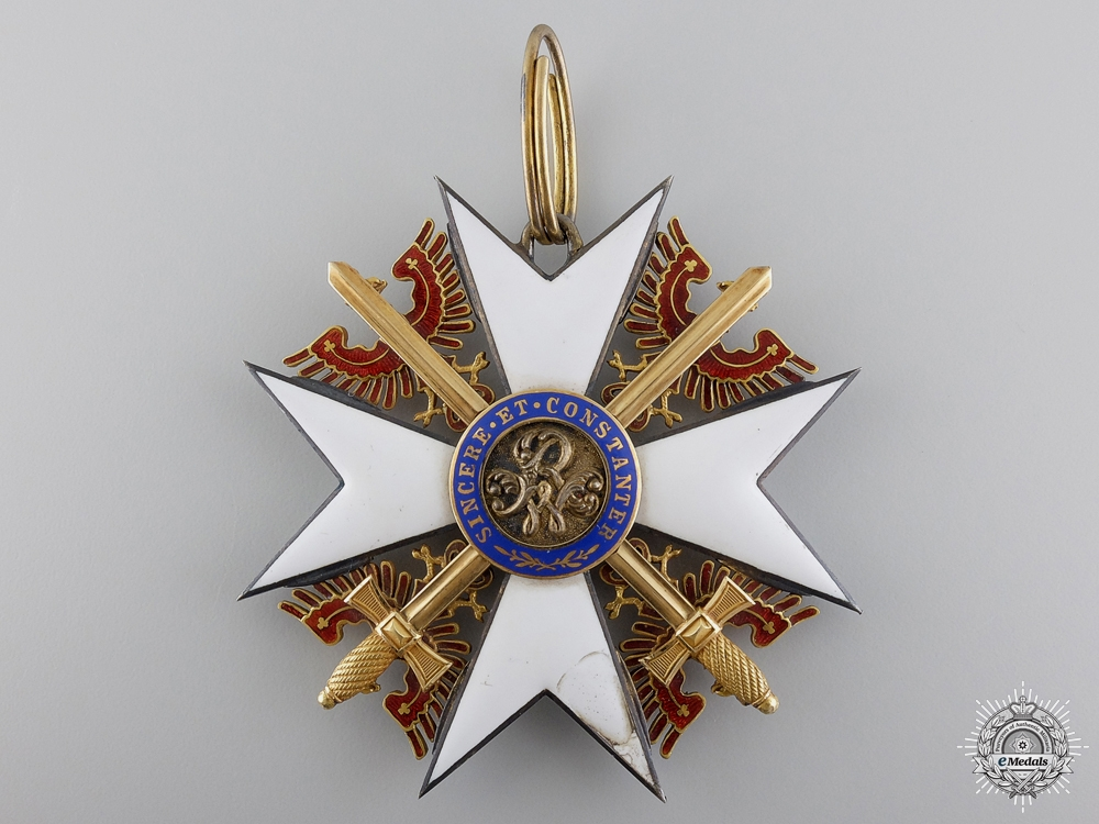 A Rare & Early Prussian Order of the Red Eagle; Grand Cross