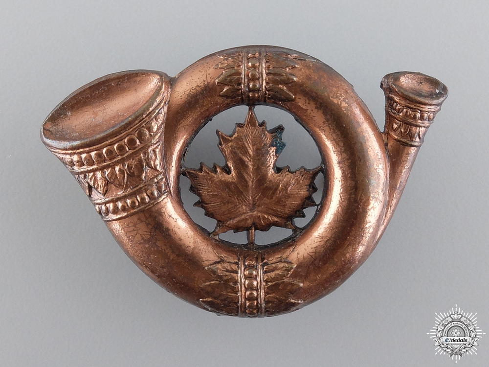 A Rare Canadian Siberian Expeditionary Force Cap Badge