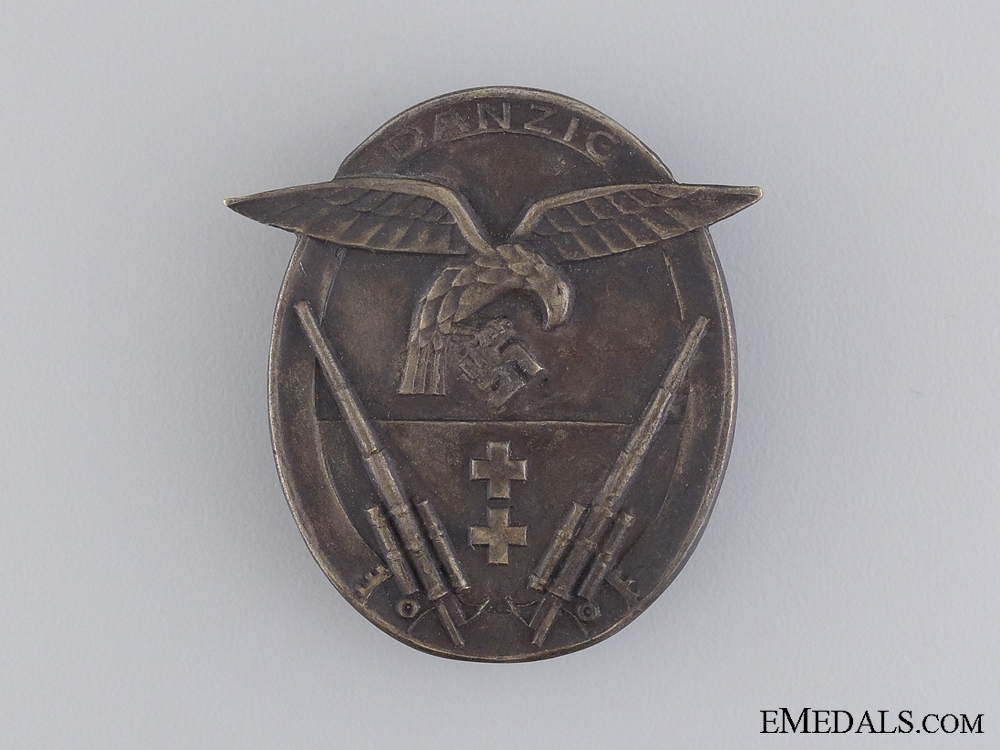 A Rare Danzig Flak Badge