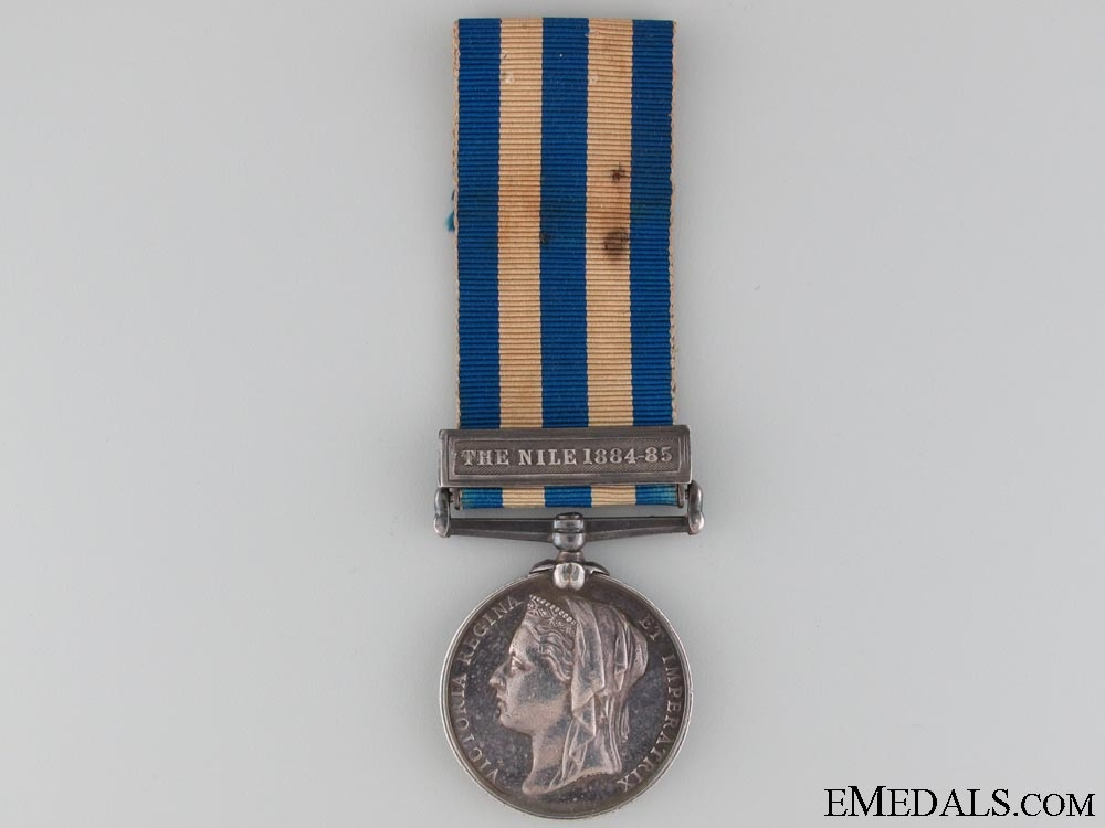 A Rare Egypt Medal to the Caughnawagha Detachment