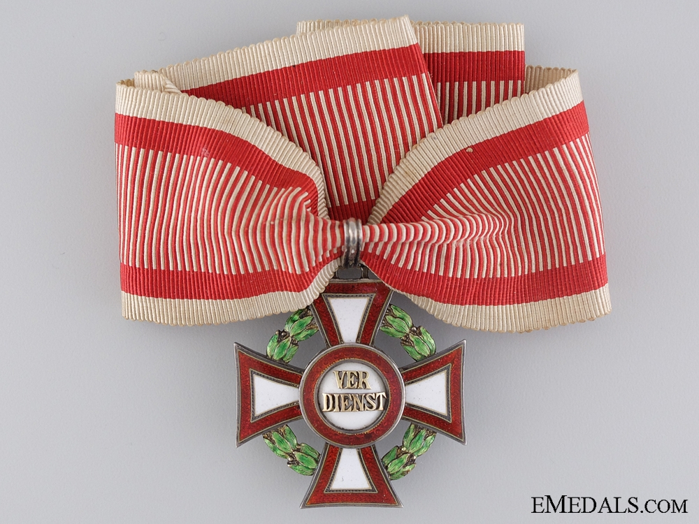 A Rarely Awarded Military Merit Cross 2nd Class with War Decoration