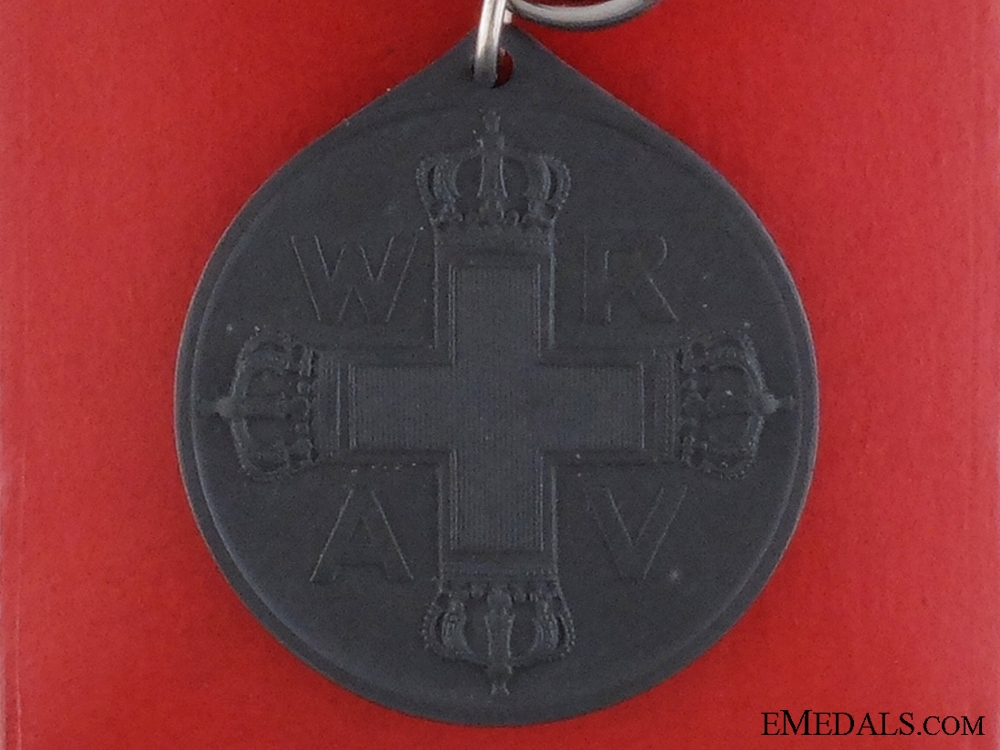 A Red Cross Medal 3rd Class; Boxed & Named