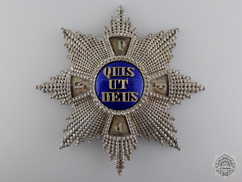 A Royal Bavarian Merit Merit Order of St. Michael; Grand Cross Star