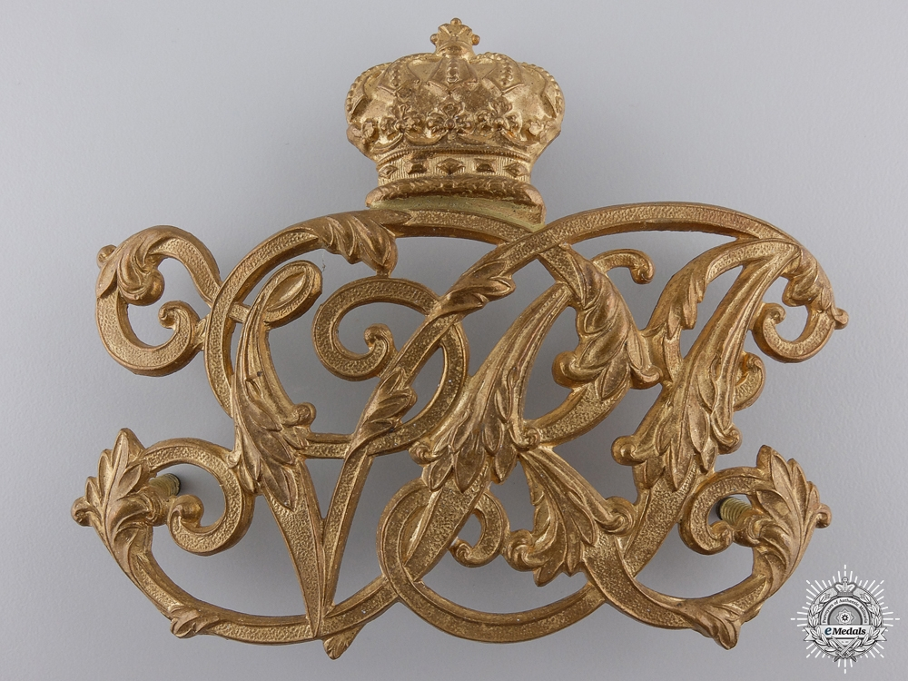 A Royal Canadian Artillery Victorian Pouch Badge