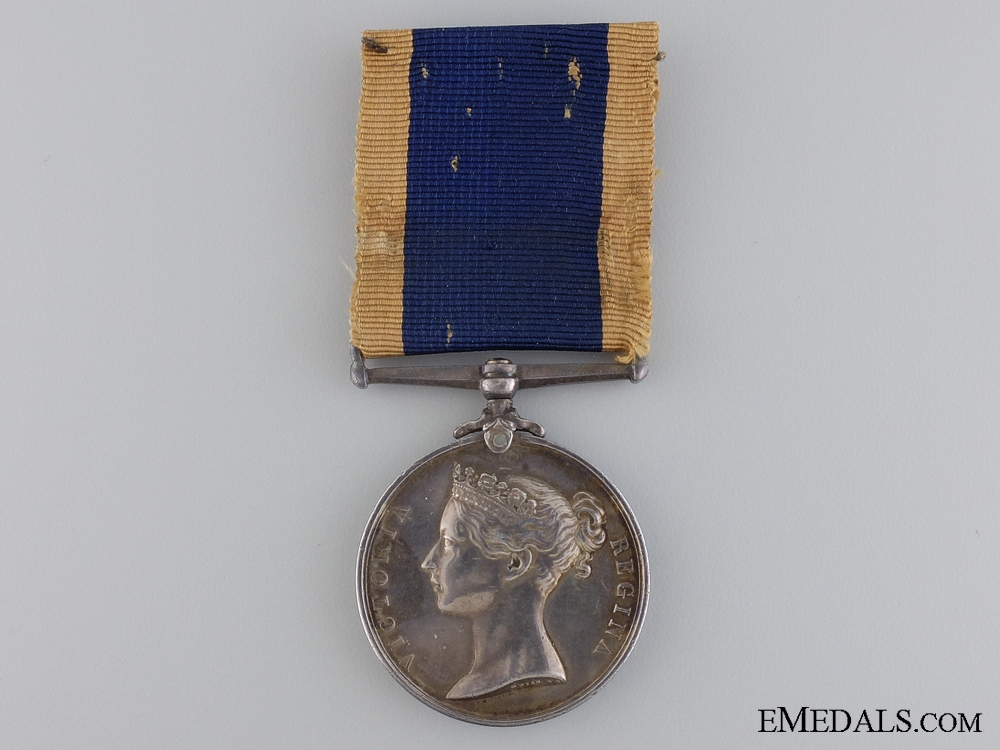 A Royal Naval Long Service and Good Conduct Medal