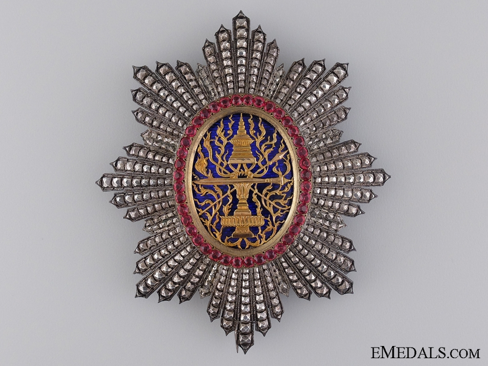 A Royal Order of Cambodia; A Superb Breast Star