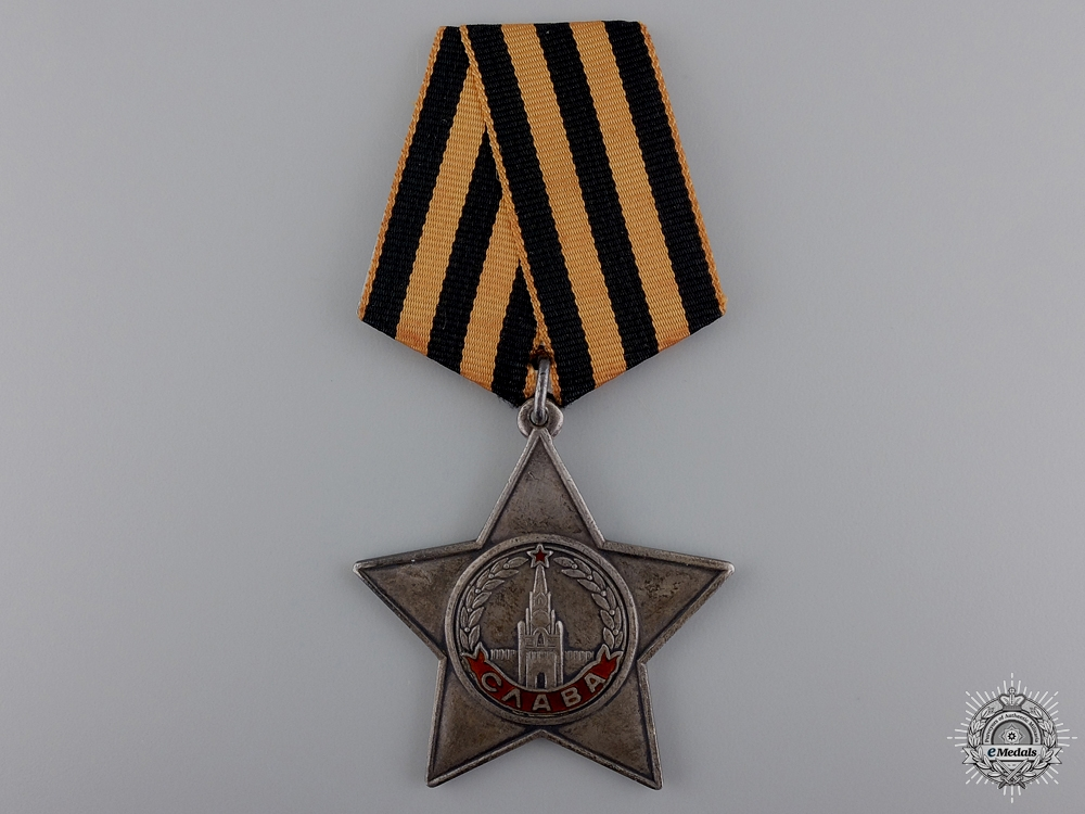 A Russian Order of Glory; 3rd Class