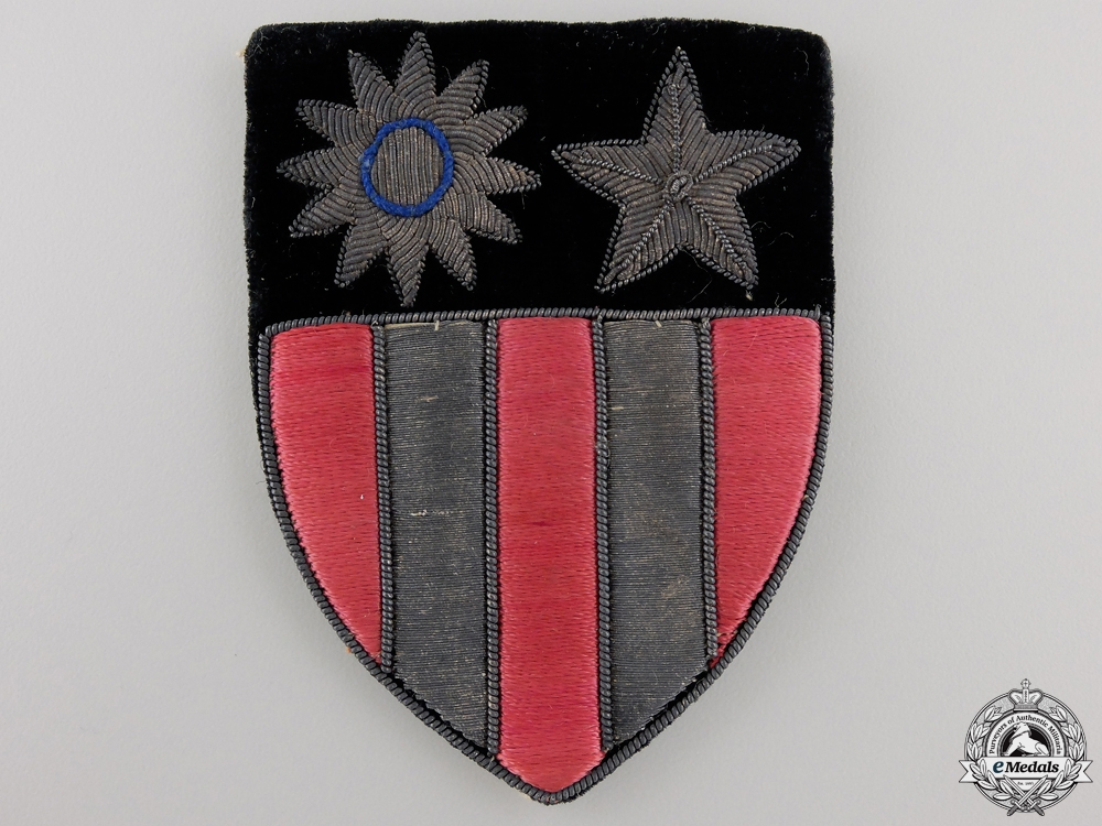 A Second War American Army Air Force China, Burma, India Sleeve Insignia