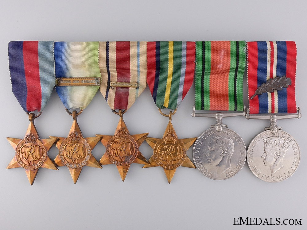 A Second War British Group of Awards