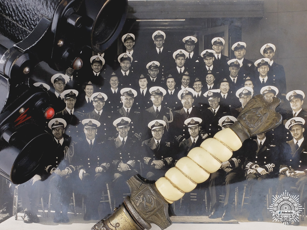 A Second War Canadian Group to HMCS Iroquois