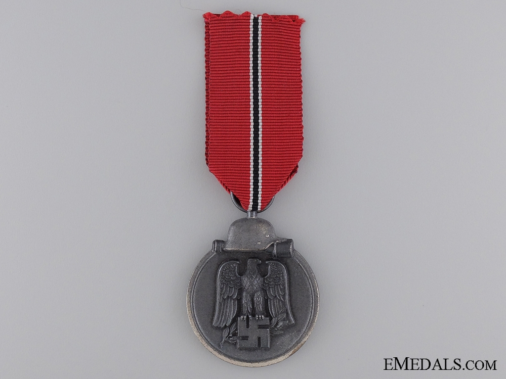 A Second War East Medal 1941/42; Marked 13