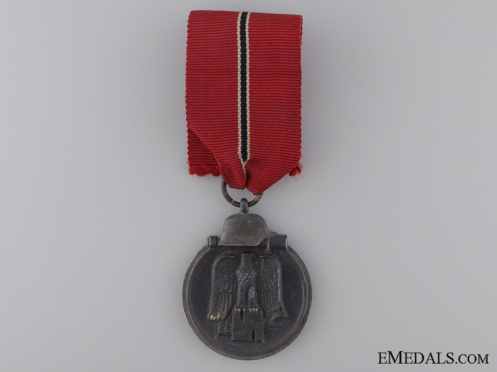 A Second War East Medal 1941/42; Marked 30
