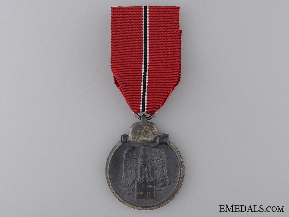 A Second War East Medal 1941/42; Marked 88