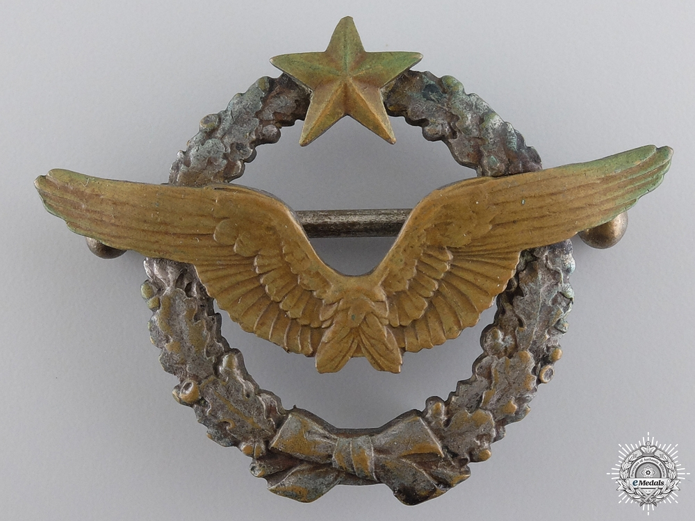 A Second War French Pilot's Badge
