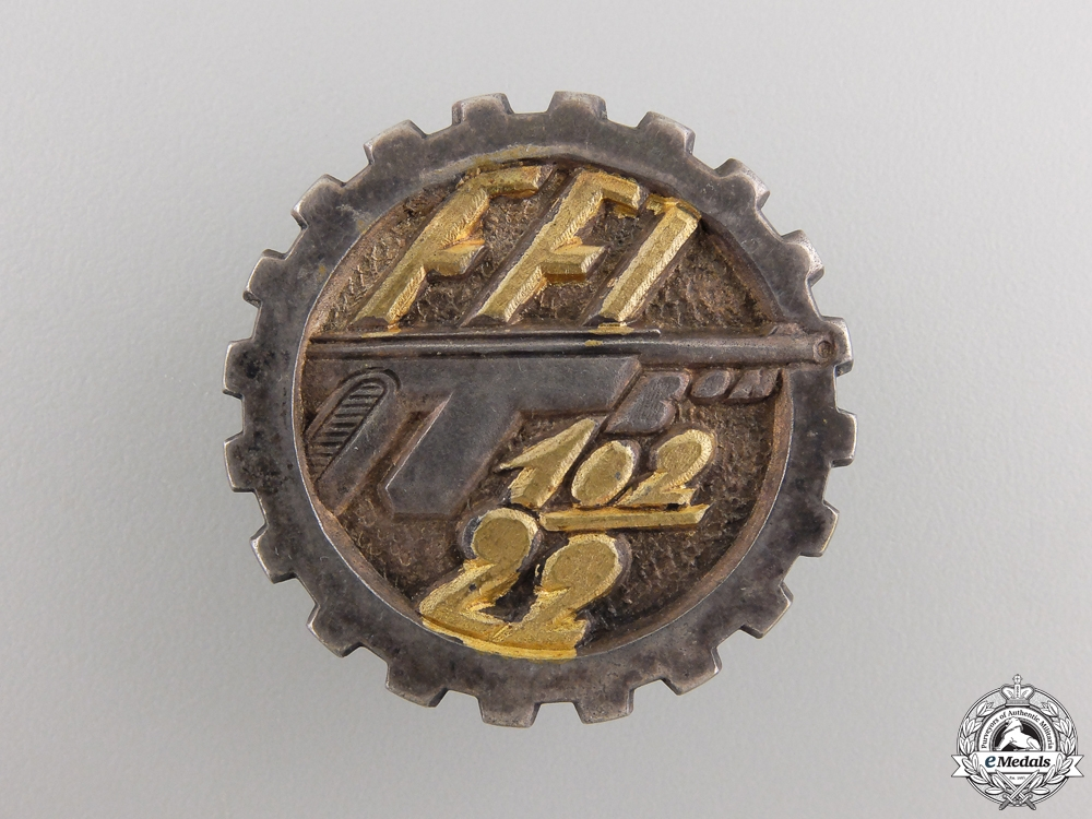 A Second War Free French Resistance Unit Badge