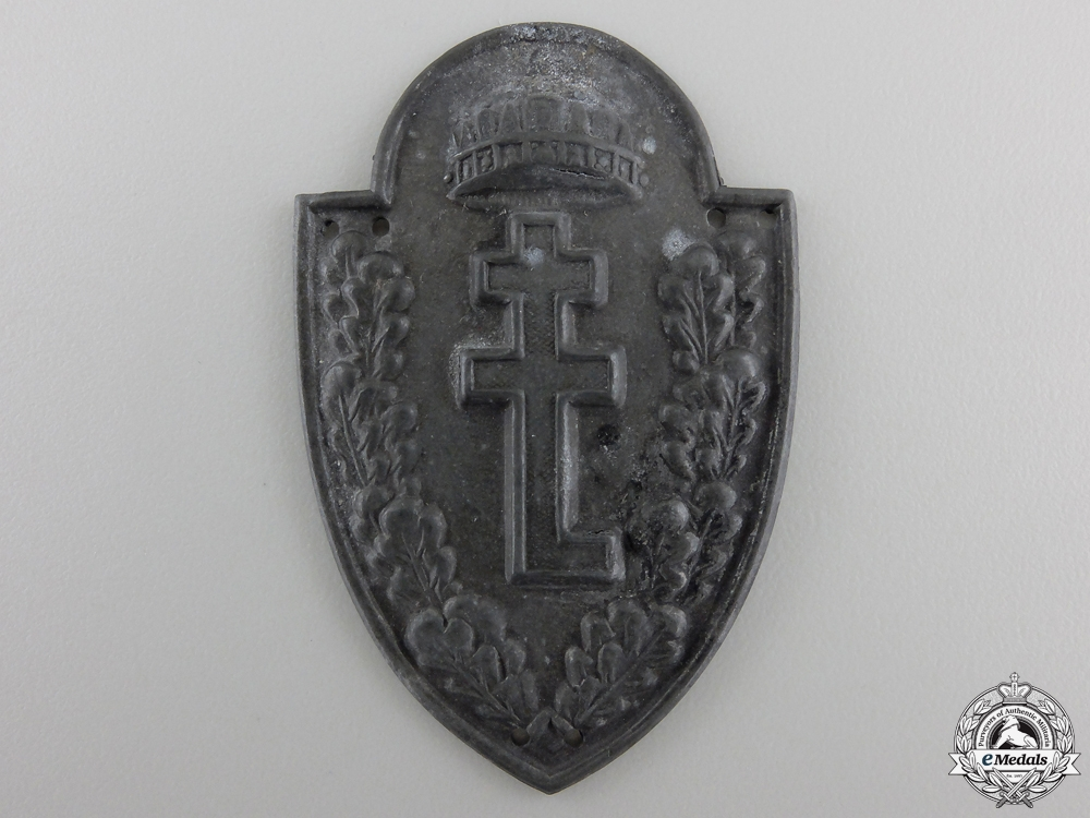 A Second War Hungarian Levente Youth Badge
