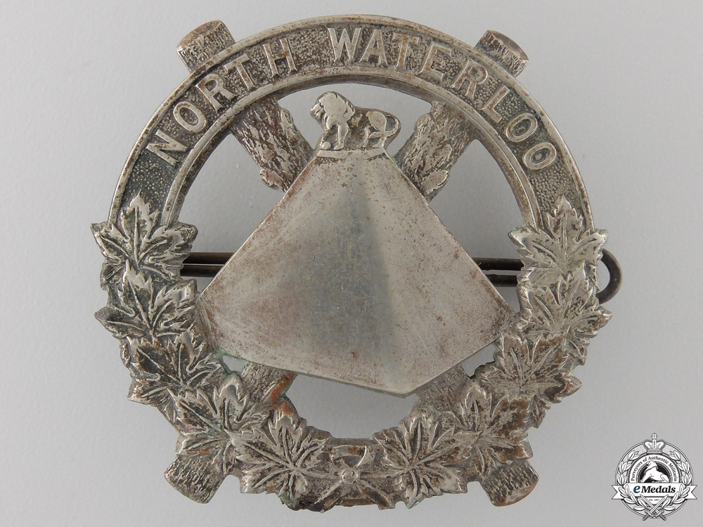 A Second War Scots Fusiliers of Canada Glengarry Badge