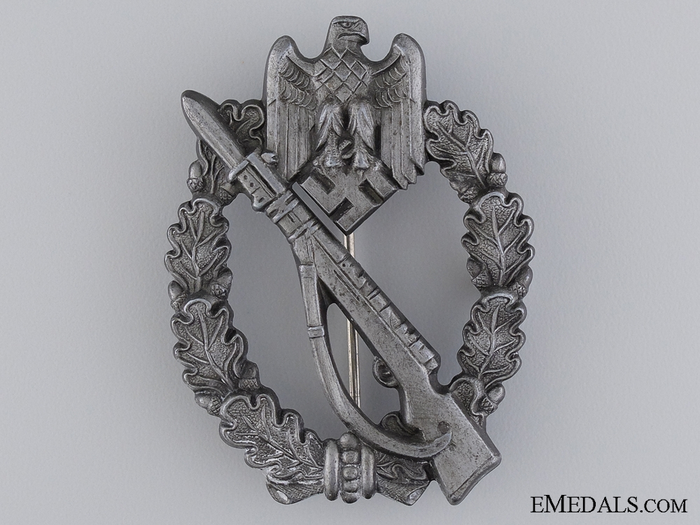 A Silver Grade Infantry Badge by S.H.u.C.o.