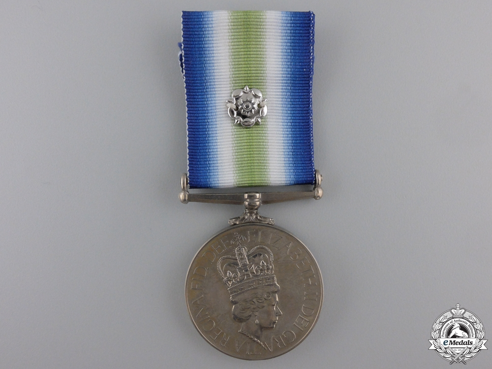 A South Atlantic Medal to the Royal Marines