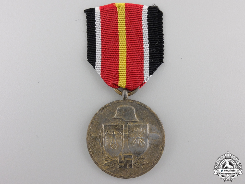 A Spanish Blue Division Commemorative Medal