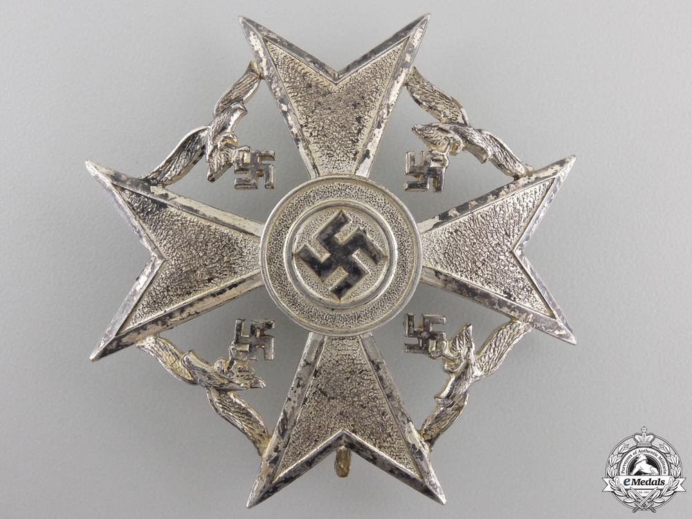 A Spanish Cross without Swords; Silver Grade