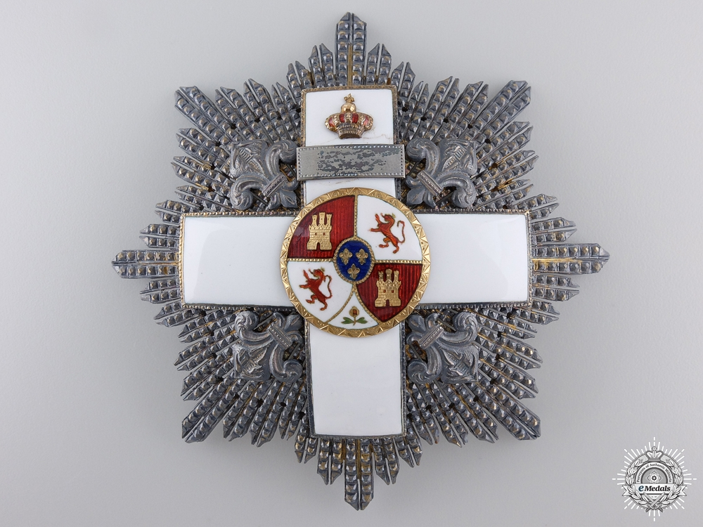 A Spanish Order of Military Merit; Peacetime Issue