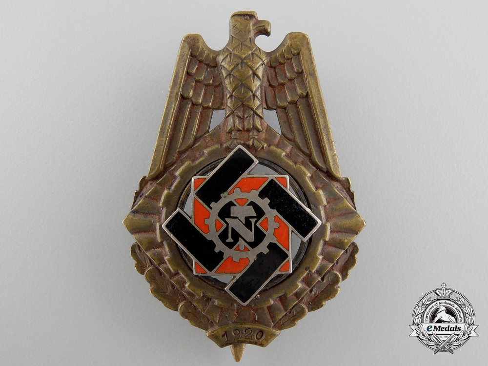 A Technical Emergency Service Honor Badge by Wilhelm Fühner