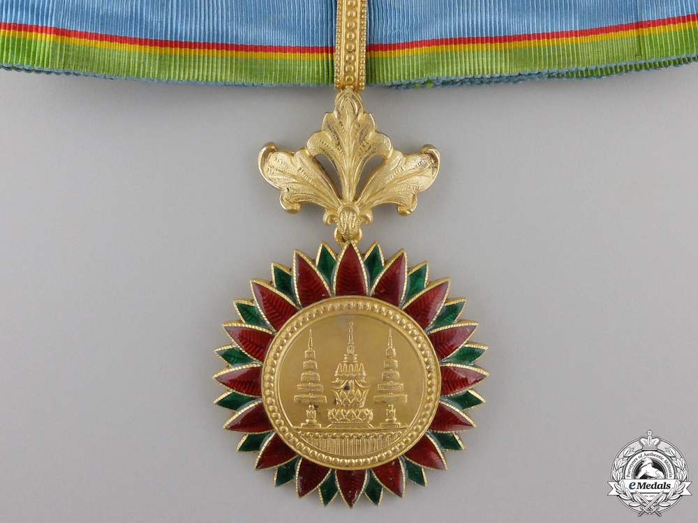 A Thai Order of the Crown; Commander's