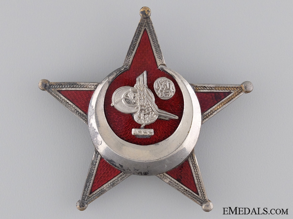 A Turkish 1915 Campaign Star (Iron Crescent) by B.B.& Co.