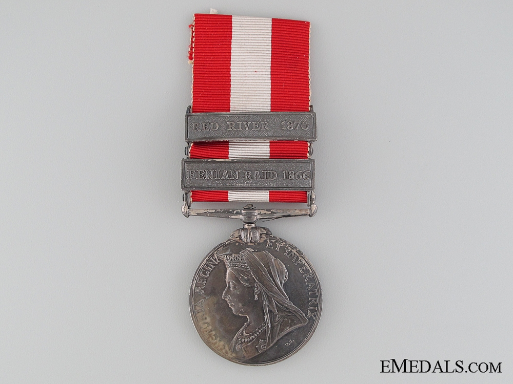 A Two Bar Canada General Service 1869