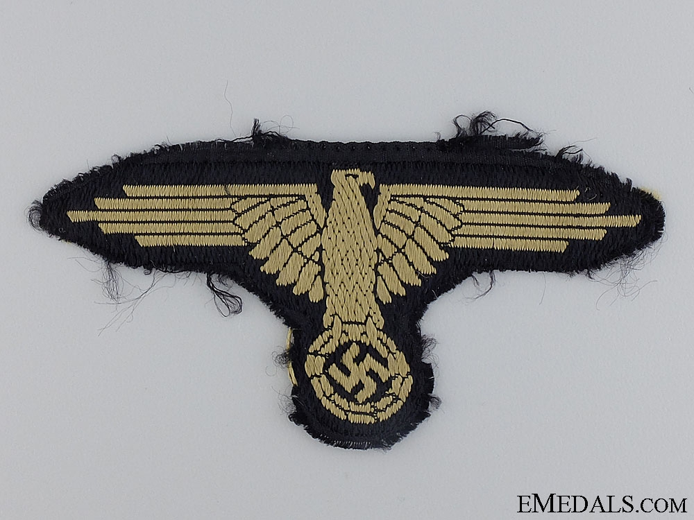 A Uniform Removed Waffen-SS Tropical Sleeve Eagle