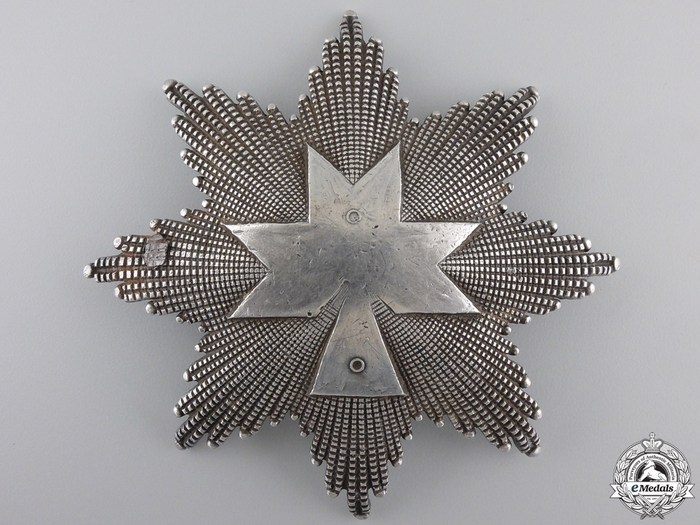 A Unique Prototype Order of King Zvonimir; First Class Star