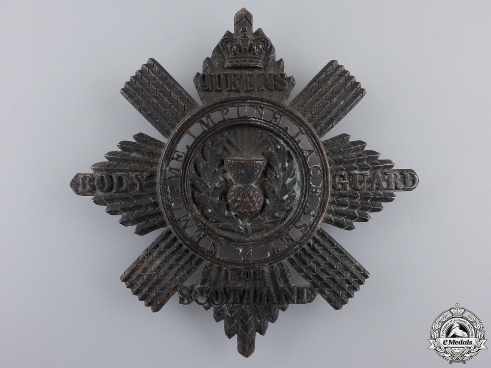 A Victorian Royal Company of Archers; Queen`s Bodyguard for Scotland Sash badge