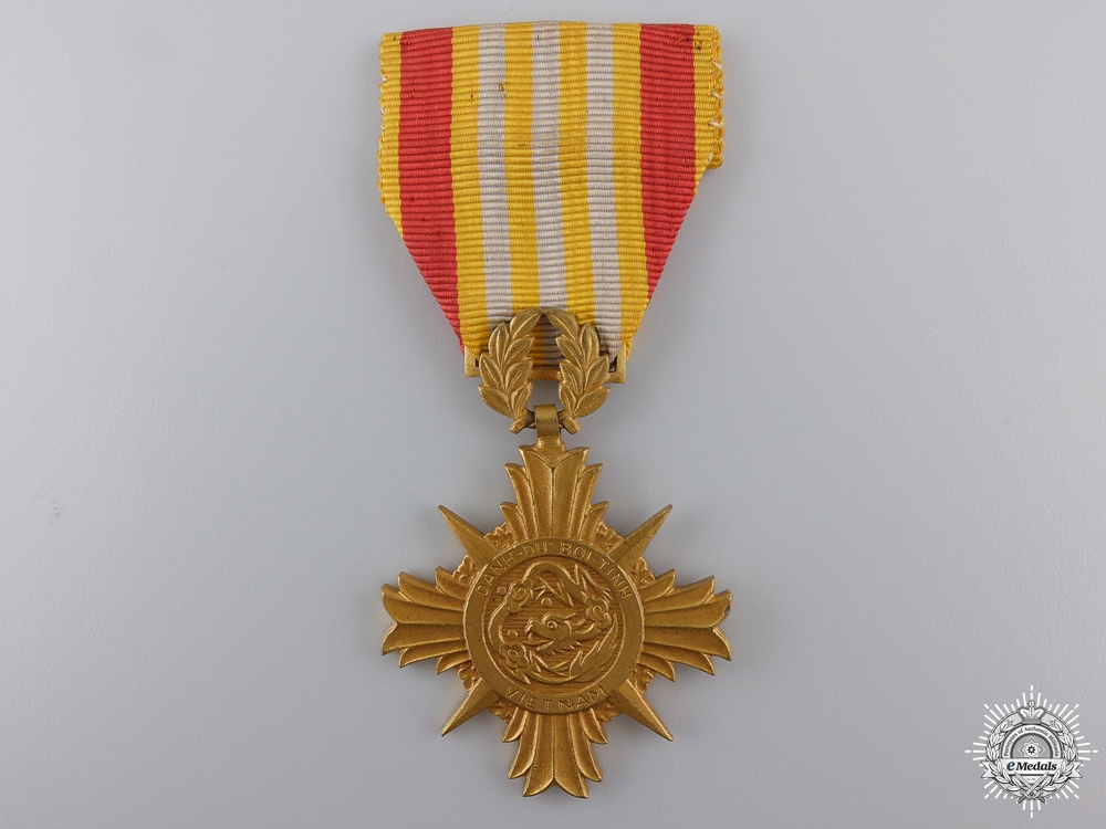A Vietnamese Armed Forces Honour Medal, 1st class
