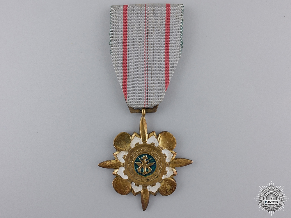 A Vietnamese Technical Service Medal; 1st Class for Officers