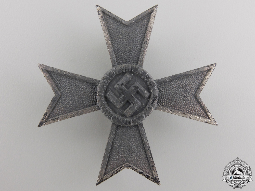 A War Merit Cross First Class 1939 by Wilhelm Deumer