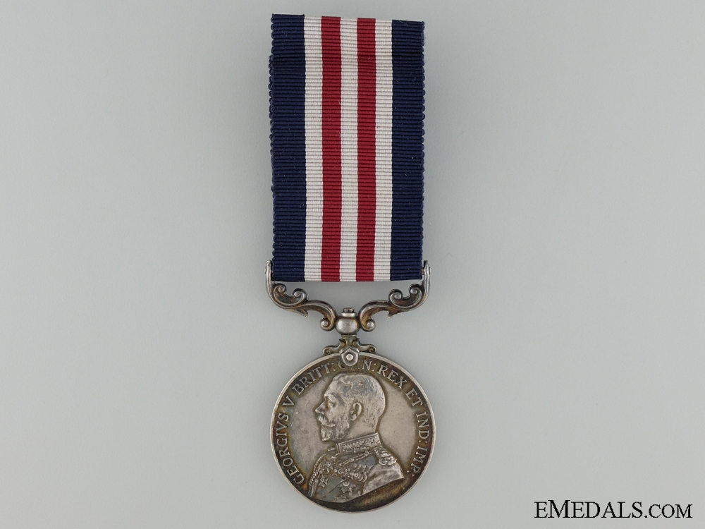 A WWI Military Medal for Bravery to the 14th Royal Welsh Fusiliers