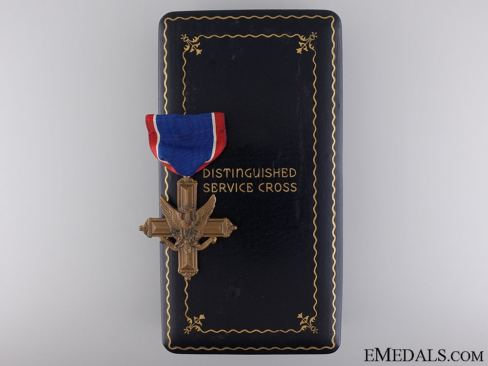 A WWII American Army Distinguished Service Cross; Numbered