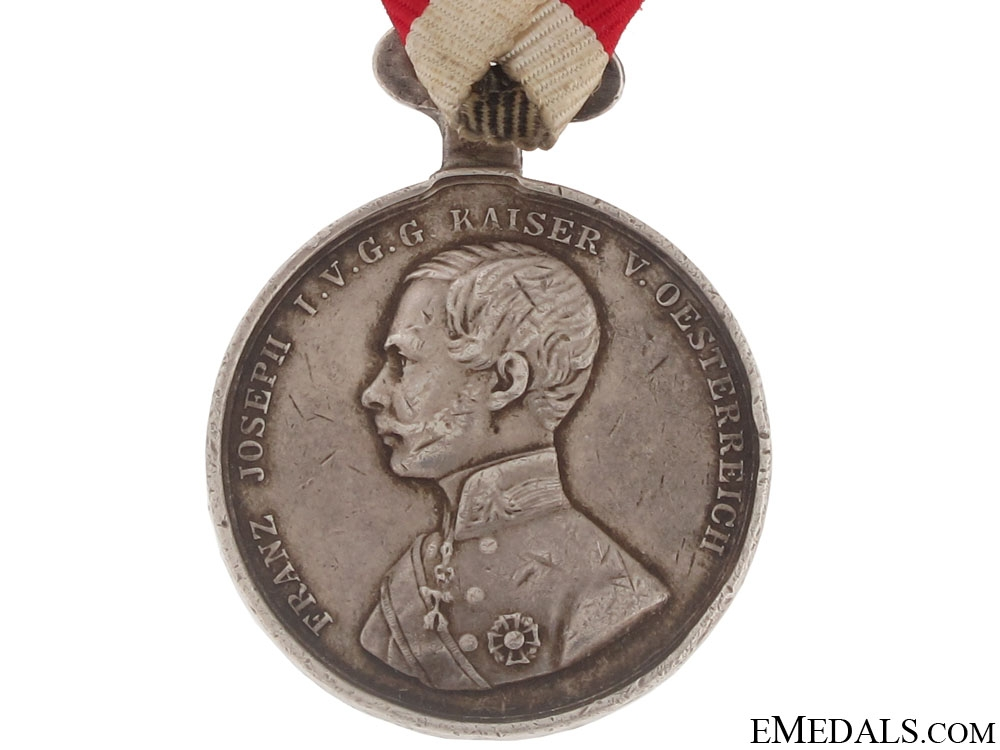 Silver Bravery Medal Second Class