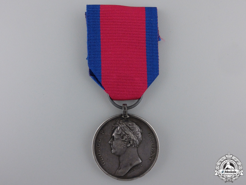 An 1815 Waterloo Medal to the Royal Artillery Drivers