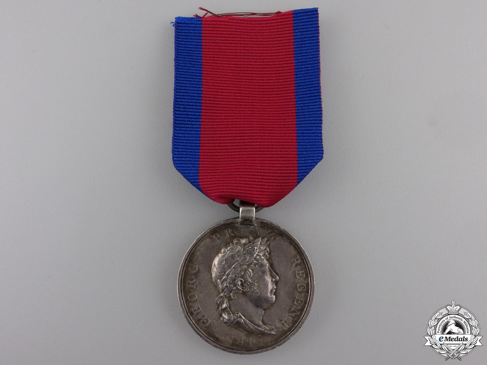 An 1815 Waterloo Medal to the Osterrode Battalion